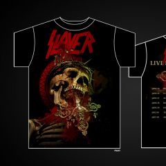 Slayer – World Painted Blood Shirt Designs